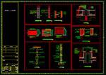 نقشه-اتوکد-جزییات-اجرای-دیوار-داخلی-و-خارجی--اسکوپ-سنگ-نما--پوشش-درز-انبساط-بام--نعل-درگاه